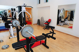"Gym of the hotel ""Akku"""
