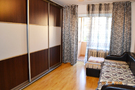 One-bedroom apartment at night, Almaty
