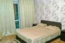 The apartment is in the center of Karaganda city,