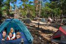 Палаточный лагерь Боровое- Щучинск