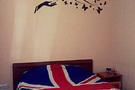 Комната с двуспальной кроватью в хостеле, на сутки