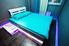 Двуспальная кровать, в отдельной комнате хостела